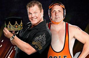80c761e62bfc WWE Over the Limit 2011 - Jerry Lawler vs. Michael Cole - Kiss My Foot Match