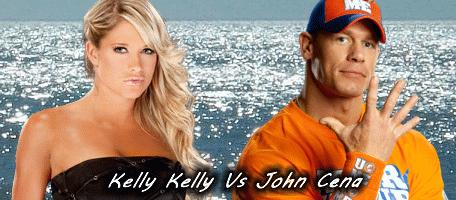 Kelly Kelly And John Cena